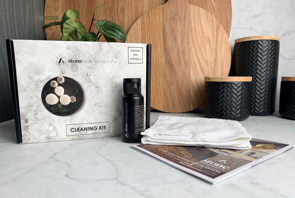 Stone Ambassador engineered stone cleaning kit
